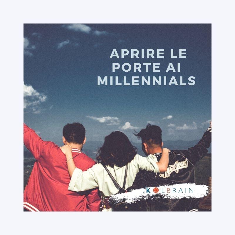 Aprire le porte ai Millennials